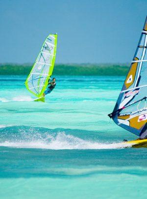 Windsurfen Karibik Aruba Curacao Bonaire