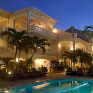 Belmar oceanfront apartments bonaire pool
