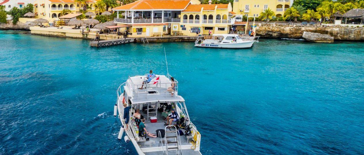 Buddy Dive Resort Bonaire Tauchen Karibik Urlaub