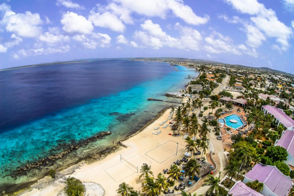 Plaza Beach Resort Bonaire Karibik Tauchen