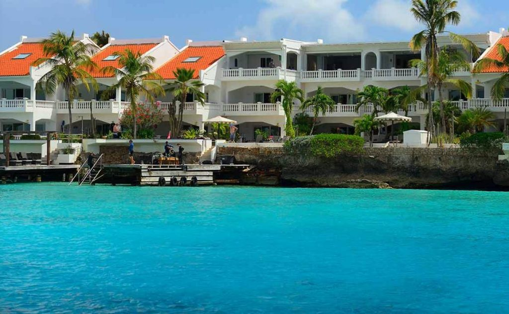 belmar oceanfront apartments bonaire building