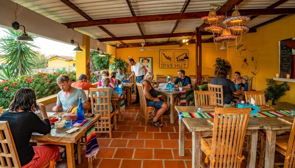 dive hut resort bonaire Karibik Reisen