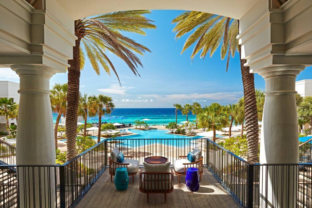 Curaçao Marriot Beach Resort Kitesurfen Karibik