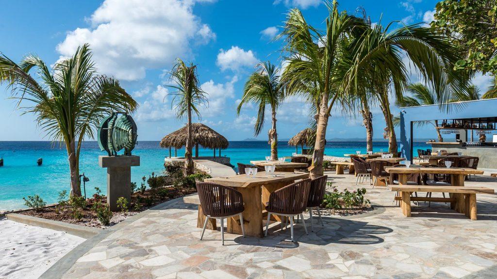 Delfins Beach Resort Bonaire Tauchen Kiten Karibik
