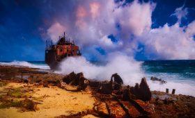 Klein Curacao Schiffswrack