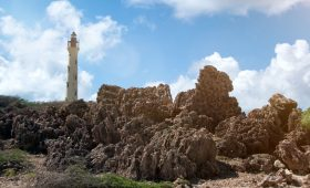 Aruba Leuchtturm Karibik Urlaub ABC Inseln